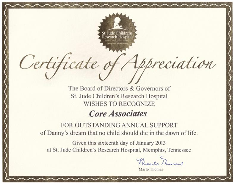 Charities Core Associates Llc